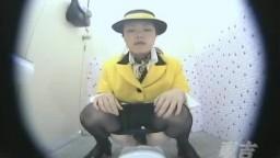 バスガイドトイレ盗撮①-2
