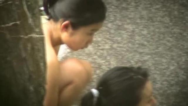 露天風呂-89(高画質)若い子中心