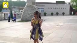 B站裸舞事件 lo娘 马雨琪采访视频 lolita