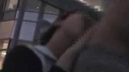 屋上で患者とハメてるナースを盗撮