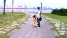 公園 全裸フェラ
