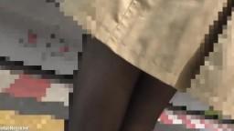 chao-049【痴漢動画】モデル級スタイルのタイトスカートOL*美巨乳ナマ揉み* パンスト破り生挿入