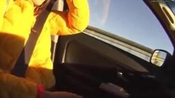 【野外】車内&プリクラで過激露出